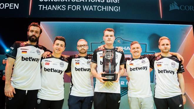Mit dem Sieg der Dreamhack Leipzig konnte sich BIG erst für die Masters Spring qualifizieren