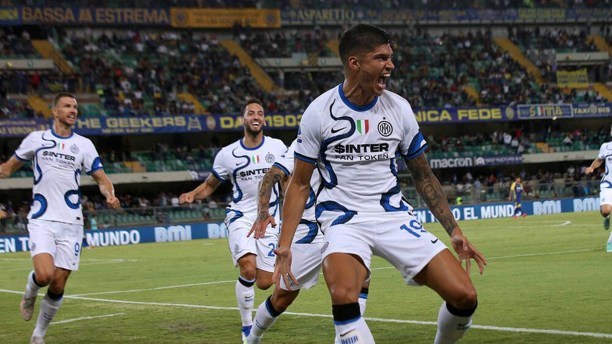 Joaquin Correa traf gleich doppelt für Inter Mailand