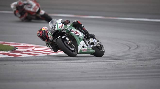 Stefan Bradl fuhr in Valencia auf Platz neun