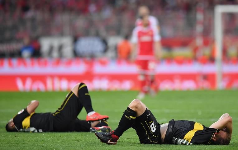 Tristesse beim VfB: Die Schwaben steigen ab. Zwei Unentschieden in der Relegation gegen Union Berlin reichen nicht