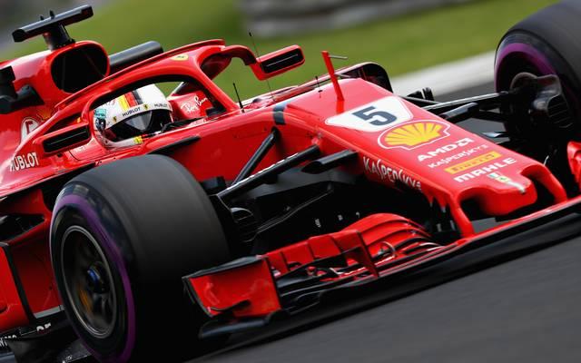 Sebastian Vettel dominierte das dritte Training beim Großen Preis von Ungarn