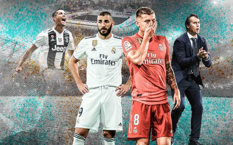 Real Madrid schlittert immer tiefer in die Krise. Cristiano Ronaldo wird vermisst, Karim Benzema hat Ladehemmung, Toni Kroos ist außer Form - nur einige der Baustellen von Trainer Julen Lopetegui. SPORT1 blickt auf die fünf Brennpunkte bei den Königlichen