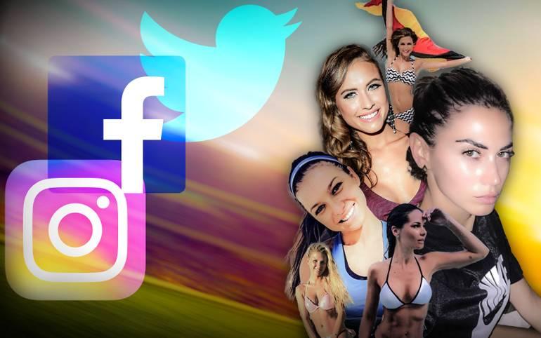 Was machen die besseren Hälften der Fußball-Stars? In den sozialen Medien halten sie ihre Fans regelmäßig auf dem Laufenden. SPORT1 zeigt die besten Bilder der Spielerfrauen