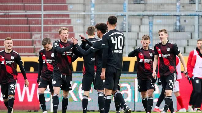 Bayern München II hatte in Halle keine Probleme