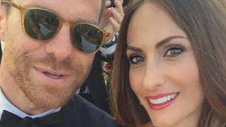 Xabi Alonso und seine Frau Nagore Aranburu