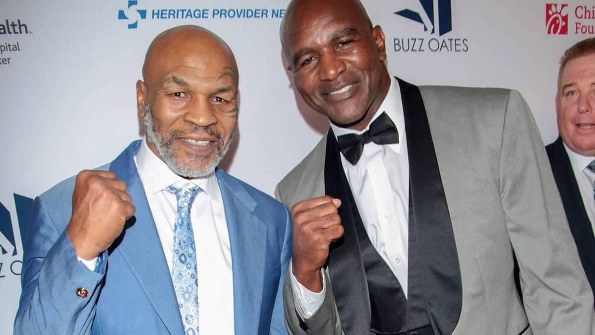 Kommt es noch zum Kampf zwischen Mike Tyson und Evander Holyfield?