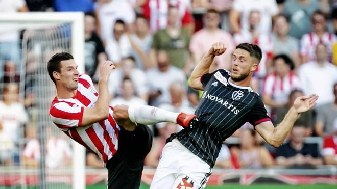 Der FC Basel verlor das Hinspiel bei der PSV Eindhoven knapp