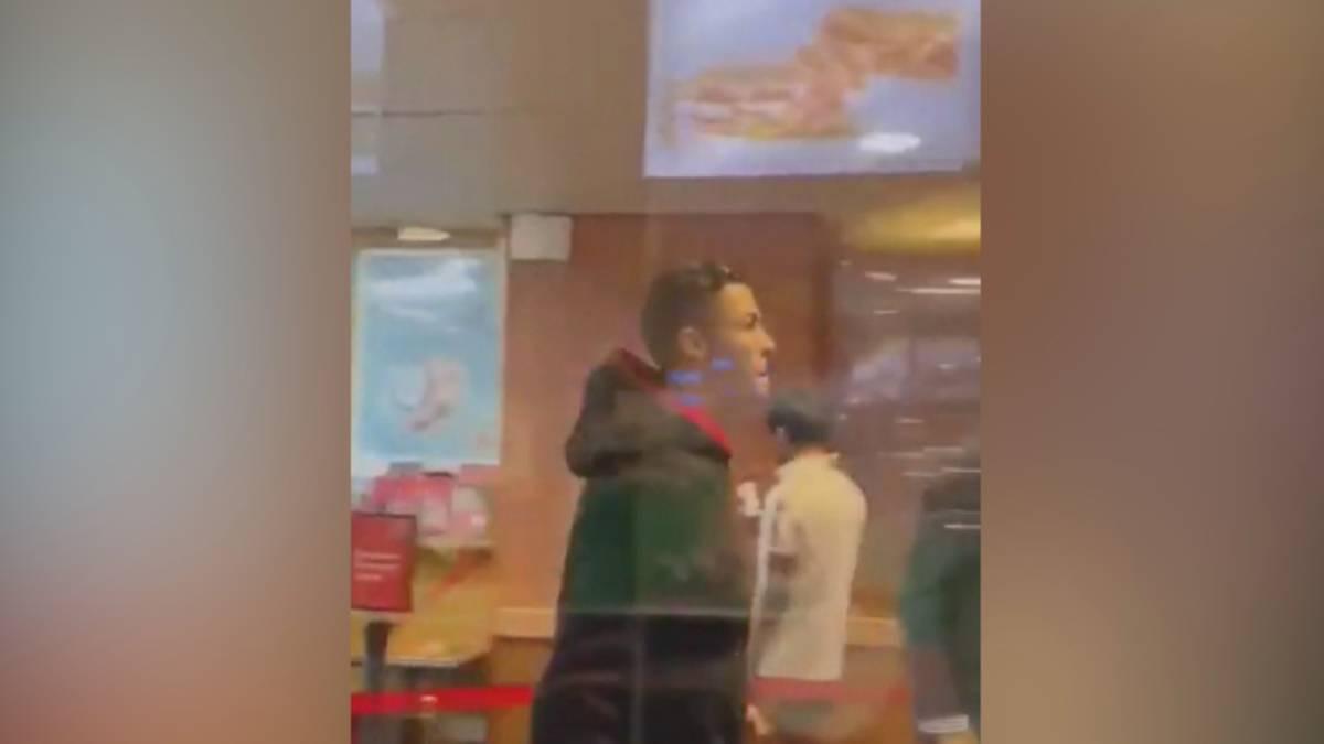 Ronaldo bei Fast-Food-Kette? Dieser Clip geht viral