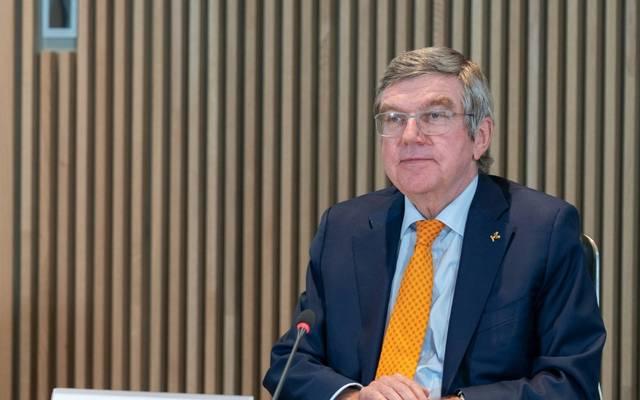 IOC-Präsident Bach hält an Olympia in Tokio fest