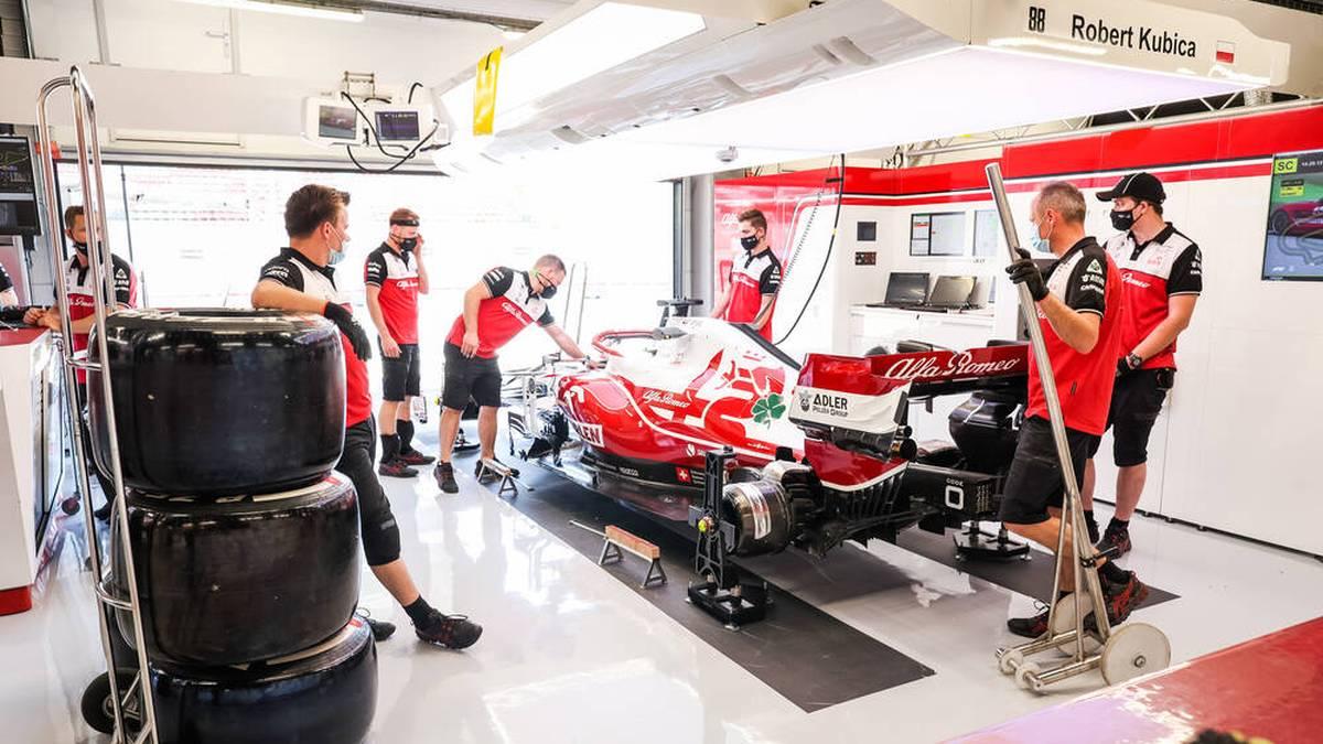 Formel 1 Kosten: Die Kosten für die Rennwagen machen einen großen Teil des Budgets aus.