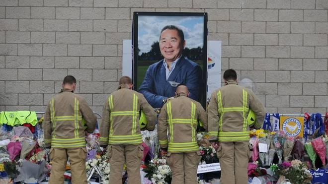 Nach dem Absturz des Helikopters eröffnet Leicester nun einen Gedenkgarten