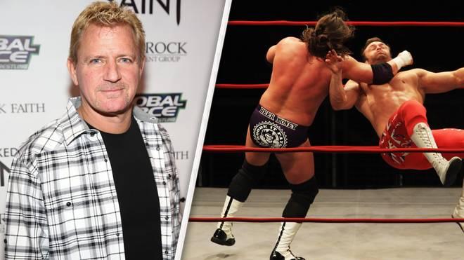 Jeff Jarrett (l.) ist bei der Wrestling-Liga GFW wieder ausgebootet
