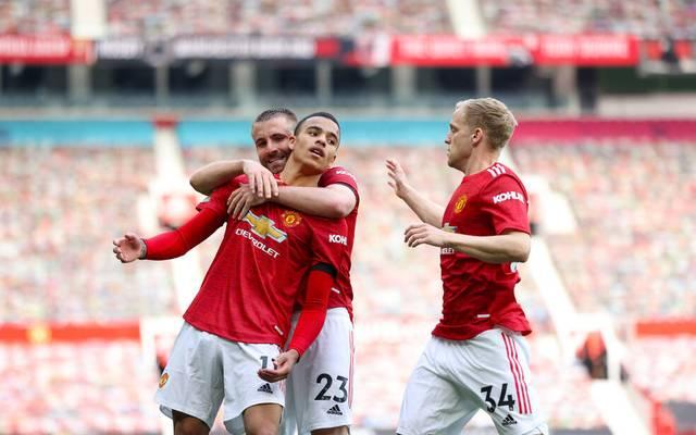 Manchester United ist Zweiter in der Premier League