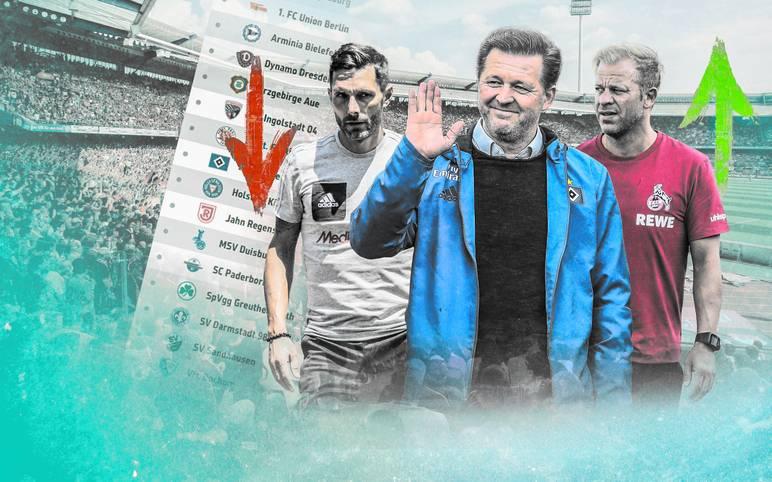 Die Bundesliga-Absteiger 1. FC Köln und Hamburger SV gehen als klare Favoriten in die neue Zweitliga-Saison. Aber wer mischt sonst noch oben mit? SPORT1 zeigt die Tipps der Zweitliga-Trainer