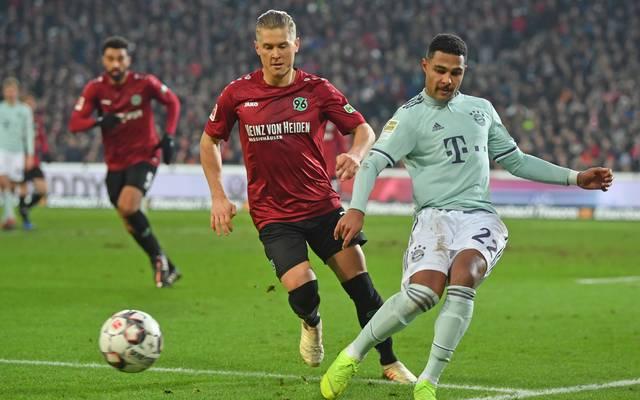 Der FC Bayern München empfängt am 32. Spieltag der Bundesliga Hannover 96
