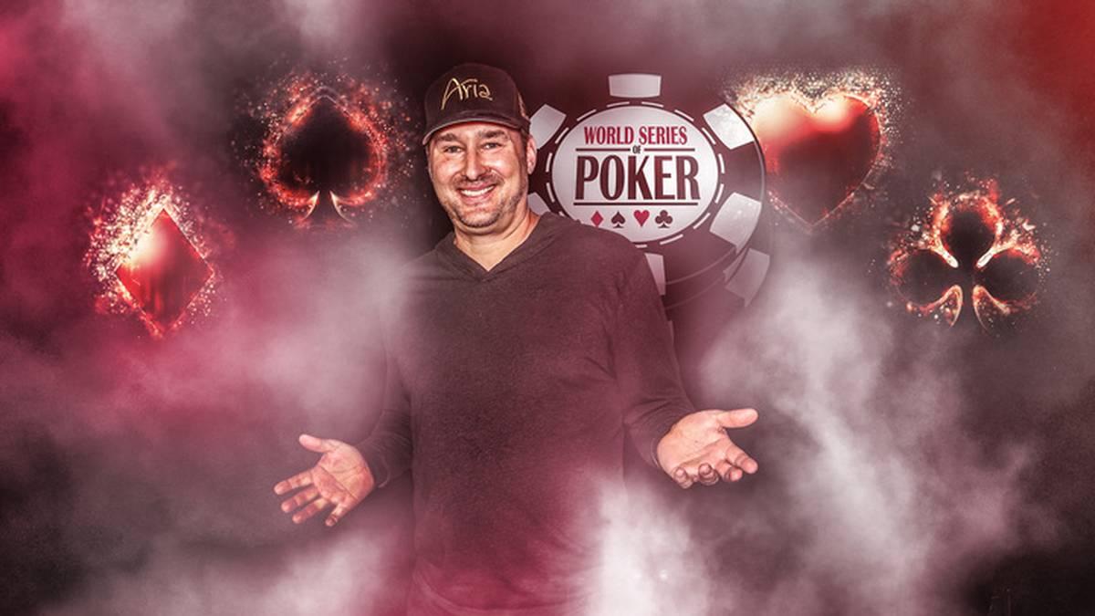 Phil Hellmuth gewann 14 Siegerarmbänder bei der World Series of Poker