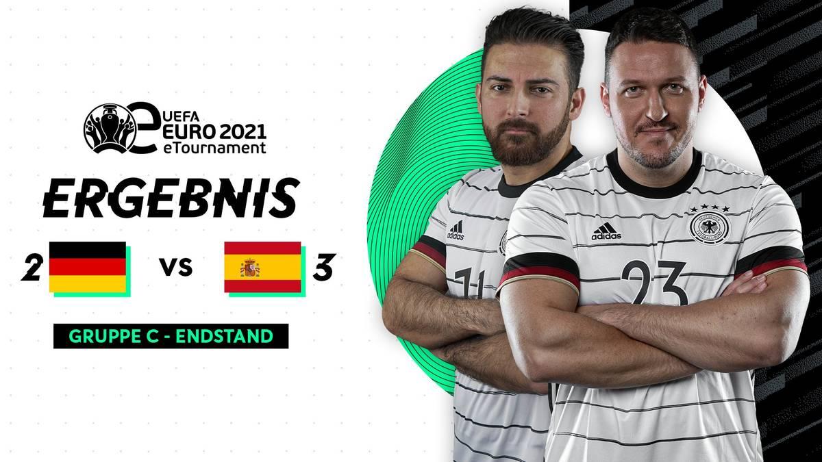 Auch auf dem virtuellen Rasen wird die Europameisterschaft ausgetragen. Im Auftaktspiel musste die DFB-Auswahl eine Niederlage gegen die Spanier hinnehmen