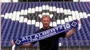FUSSBALL: HSV/Pressekonferenz mit Joerg ALBERTZ