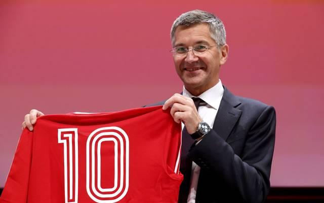 Herbert Hainer löste Uli Hoeneß als Präsident des FC Bayern ab