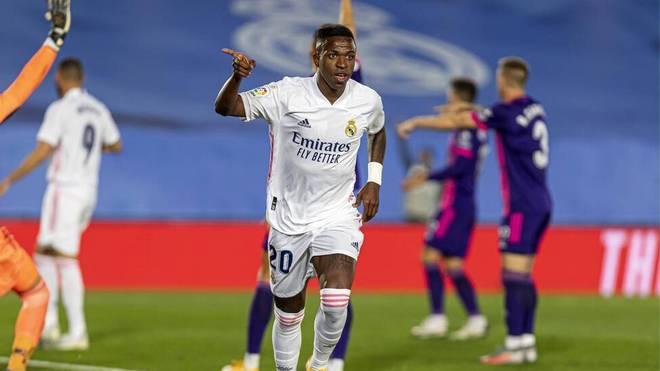 Vinicius Jr. macht das entscheidende Tor zum Sieg für Real