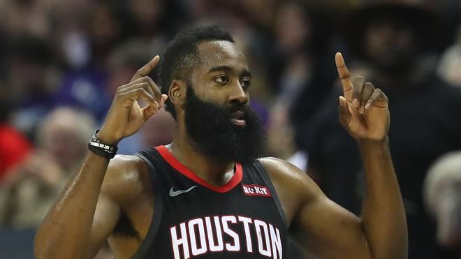 James Harden von den Houston Rockets ist der neue Rekordhalter für die meisten Dreier-Versuche in einer Saison