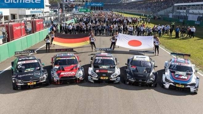 Nissan und Lexus präsentierten ihre schnellen Autos bereits in Hockenheim