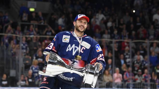 Marcel Goc wurde als Spieler mit den Adlern 2019 Deutscher Meister