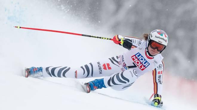 Viktoria Rebensburg wurde beim Super-G in Russland nur Achte