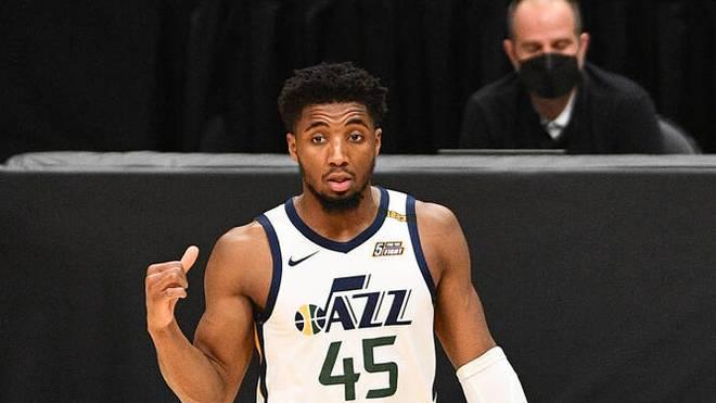 Donovan Mitchell von den Utah Jazz hat sich am Knöchel verletzt
