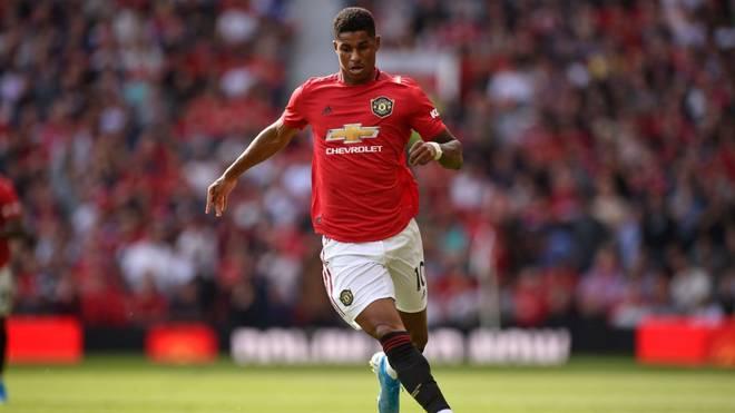 Marcus Rashford und Manchester United treten bei West Ham United an