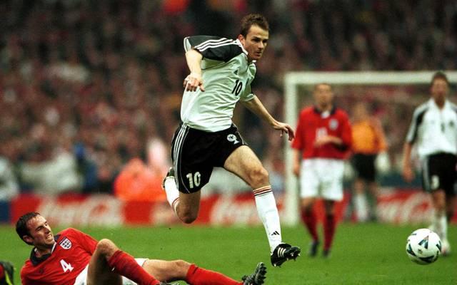 Dietmar Hamann erzielte das letzte Tor im alten Wembley-Stadion
