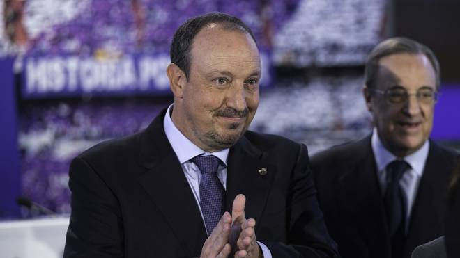 Rafael Benitez Unveiled as the New Manager of Real Madrid