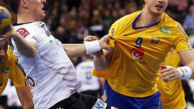 Niclas Barud (r.) kommt aus Schweden nach Göppingen