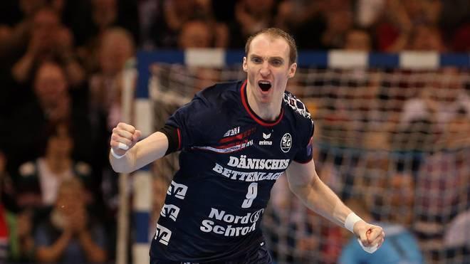 Holger Glandorf spielt für die SG Flensburg-Handwitt