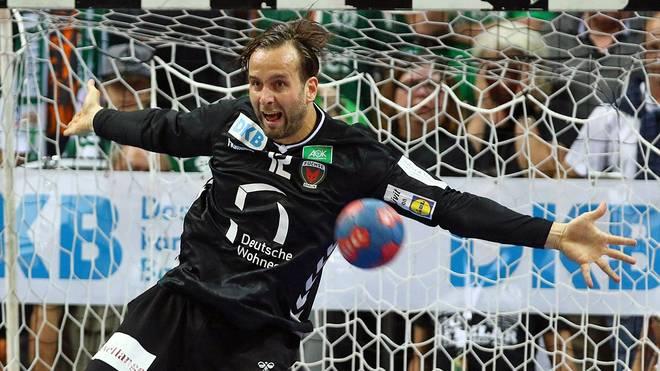Die Füchse mit Keeper Silvio Heinevetter bekommen es in der dritten Runde mit einem slowenischen Spitzenteam zu tun