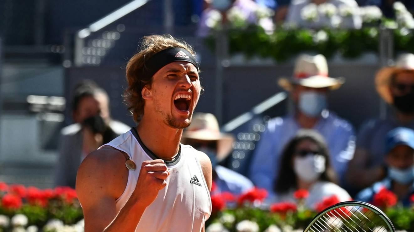 Geht mit Vorfreude ins Halbfinale: Alexander Zverev