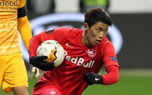 Hee-Chan Hwang spielte zuletzt für RB Salzburg