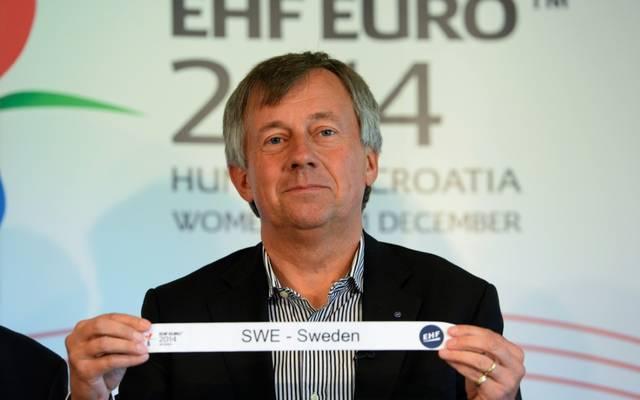 Wiederer ist seit 2016 Präsident der EHF