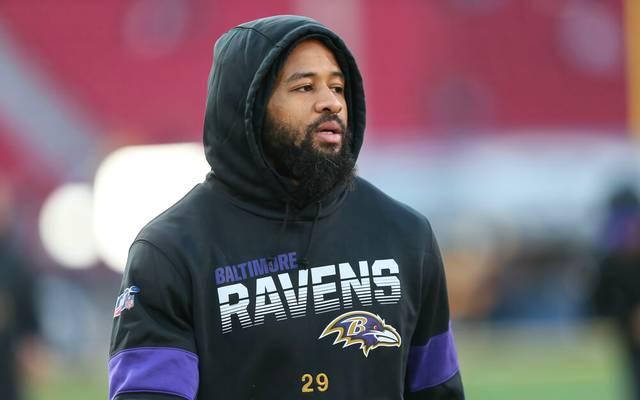 Earl Thomas von den Baltimore Ravens hat sich im Training geprügelt