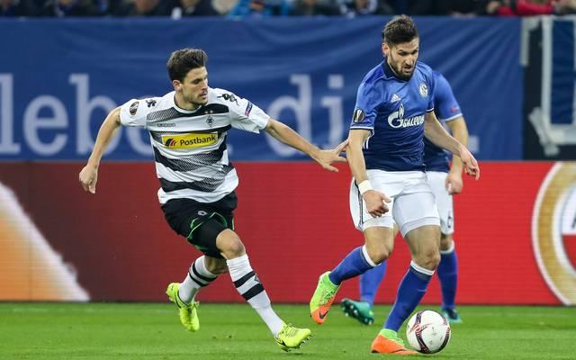 Tobias Strobl (l.) und Daniel Caligiuri (r.) spielen künftig gemeinsam beim FC Augsburg
