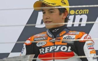 Bereits in jungen Jahren zeichnet sich ab, wo sein Weg eines Tages hinführen würde. An erste Ränge kann sich Marquez schon seit kleinauf gewöhnen (Copyright: Facebook/Marc Marquez)