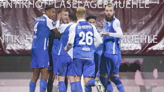 Der SV Meppen kam in der 3. Liga zum vierten Saisonsieg