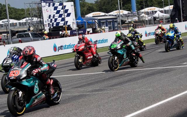 Das MotoGP-Rennen in Thailand ist verschoben worden