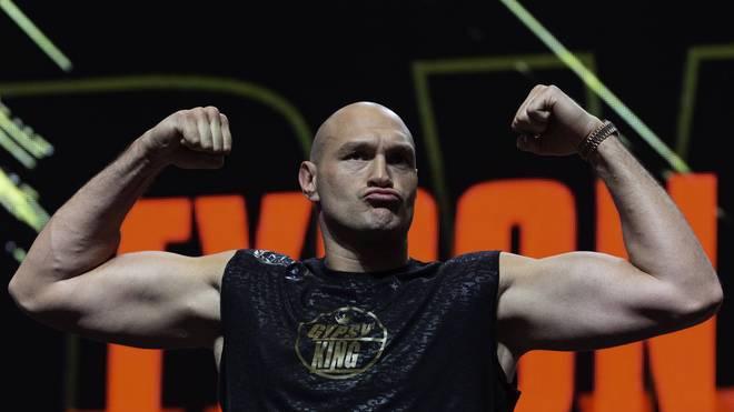 Tyson Fury freut sich auf einen Mega-Fight gegen Anthony Joshua