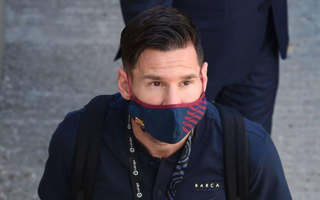 Lionel Messi am Saisonende der spanischen Liga 2020