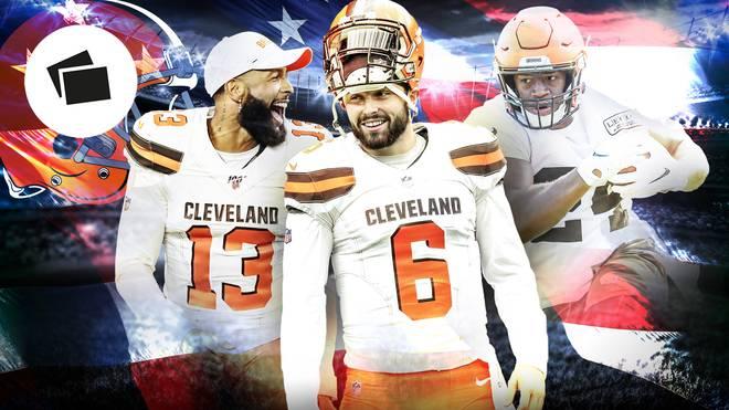 Odell Beckham jr. und Baker Mayfield sollen die Cleveland Browns in eine goldene Zukunft führen