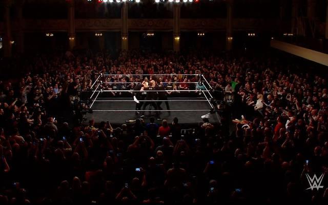 Die Undisputed Era griff bei WWE NXT UK Imperium an