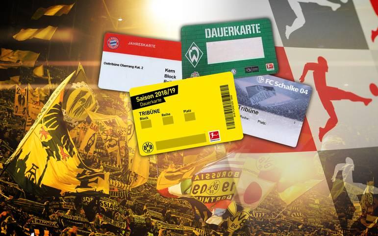 Dauerkarten für die Lieblings-Bundesliga-Mannschaft sind nicht nur sehr begehrt, sondern vor allem eines, nämlich teuer. SPORT1 zeigt im Ranking welche Vereine besonders viel von den Fans verlangen