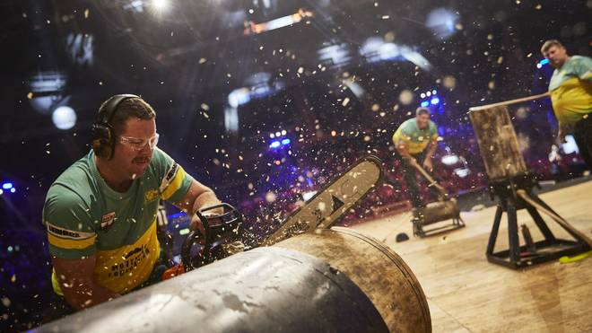 In Prag suchen die besten Holzfäller der Welt ihren König
