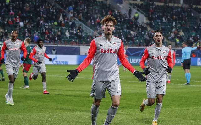 Mërgim Berisha schoss RB Salzburg gegen Lokomotive Moskau zum Sieg
